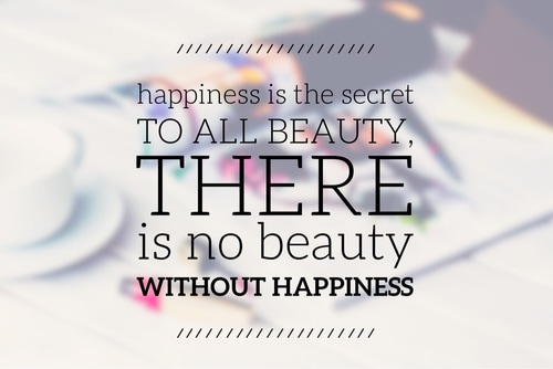 beauty, happiness, and quotes image