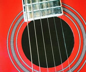 acoustic, guitar, and music image