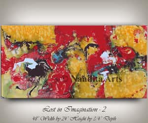 abstract art, Abstract Painting, and modern art image