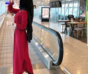dress, hijâbi, and fashion image