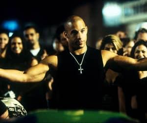 car and Vin Diesel image