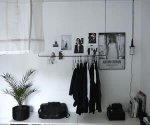 b&w, room, and black and white image