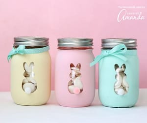 easter crafts and mason jar crafts image
