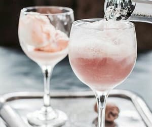 champagne, cocktail, and delicious image
