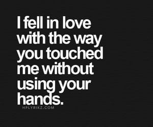 love, quotes, and hands image