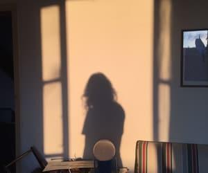 girl, aesthetic, and shadow image