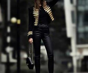 fashion, black, and girls image