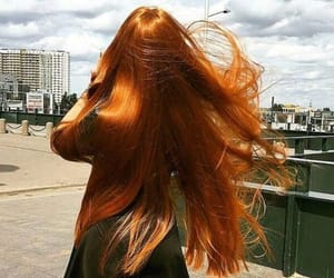 hair, girl, and ginger image