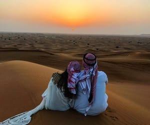 couple, kamila, and Dubai image