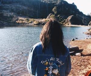 girls, landfill, and landscape image