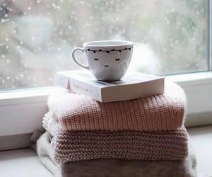 book, cozy, and mug image