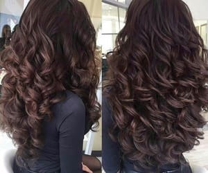 hair style, hair color, and stylé image
