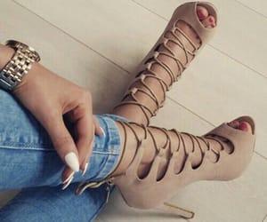 details, heels, and high heel image