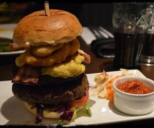London Food  Delicious Burger