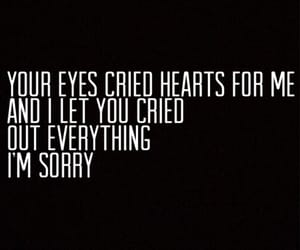 cry, eyes, and heart image