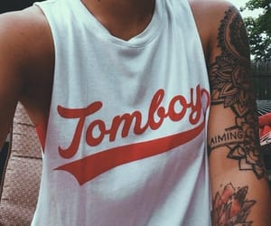 Tattoos and tomboy image