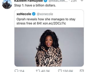 funny, oprah, and black twitter image