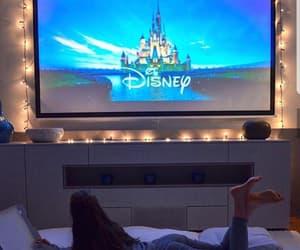 girl, tv, and disney image