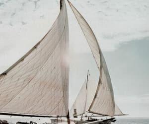 sea, ocean, and ship image