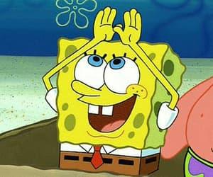 spongebob, idgaf, and boring image