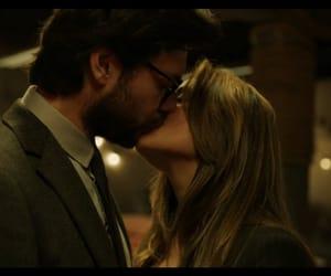 couple, kissing, and netflix image