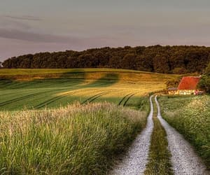 country, countryside, and far away image