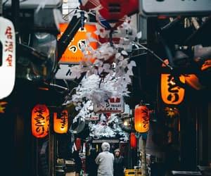 japan, lantern, and street image