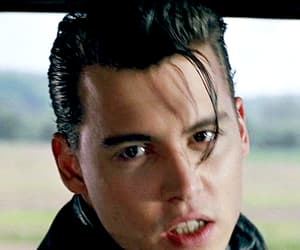 johnny depp, cry baby, and kiss image