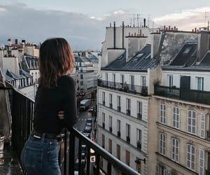 indie, girl, and paris image