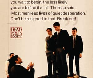 dead poets society, quote, and quotes image