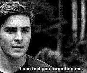 zac efron, forget, and quotes image