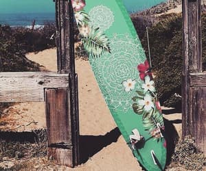 areia, board, and flores image