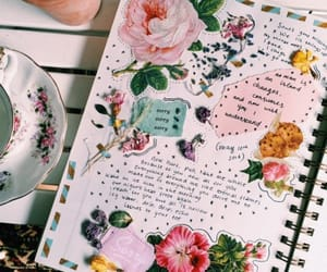 art, aesthetic, and journal image