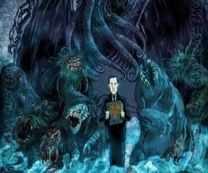 cthulhu, Lovecraft, and HP Lovecraft image