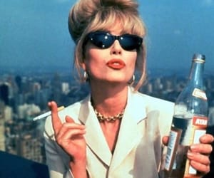 cigarette, absolutely fabulous, and alcohol image