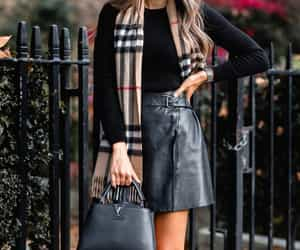 Burberry, fashion, and girl image