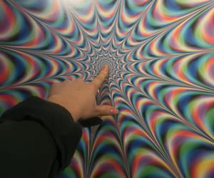 acid, art, and colours image