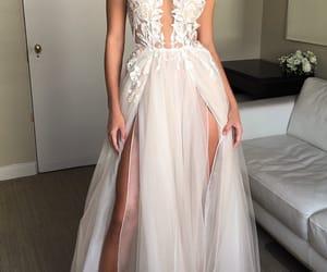 dress, style, and wedding image