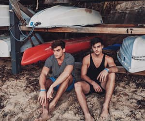 grayson dolan, ethan dolan, and twins image