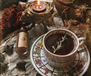 tea, witch, and autumn image