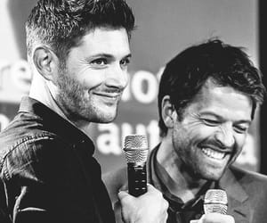 supernatural, jensen, and misha image