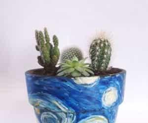 plants, art, and van gogh image