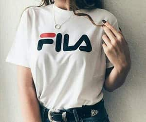 Fila and girl image
