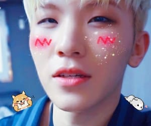 icon, Seventeen, and woozi image
