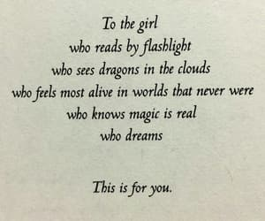 quotes, book, and magic image