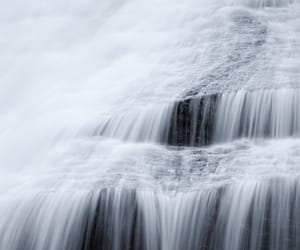 grey, silver, and water image