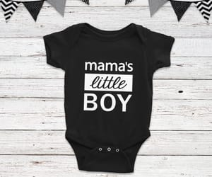 baby clothes, bodysuit, and son image