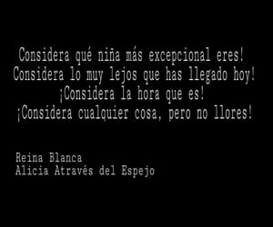 alicia, frases, and reina blanca image