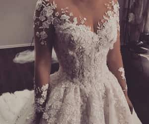 bride, style, and wedding dress image