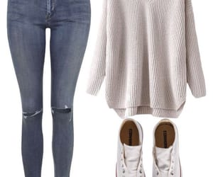 autumn, converse, and jeans image